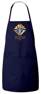 Knights of Columbus Apron (Navy)