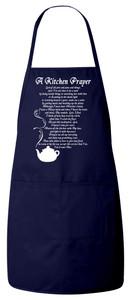 A Kitchen Prayer Apron (Navy)