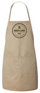 Creation of Beer Apron (Natural)
