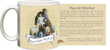 St. Joseph Prayer for Fatherhood Mug