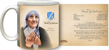 St. Teresa of Calcutta Commemorative Prayer Mug