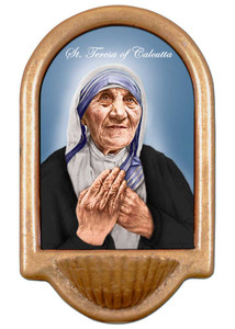 St. Teresa of Calcutta Holy Water Font