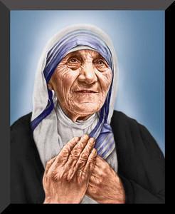 St. Teresa of Calcutta Canonization Wall Plaque