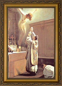 The Holy Sacrifice of the Mass Framed Art