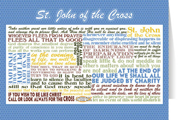 Saint John of the Cross Quote Card