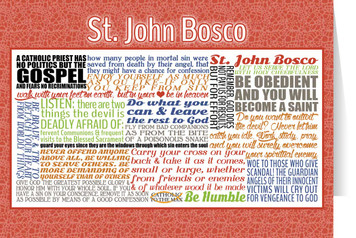 Saint John Bosco Quote Card