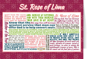 Saint Rose of Lima Quote Card