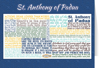 Saint Anthony of Padua Quote Card