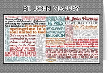 Saint John Vianney Quote Card