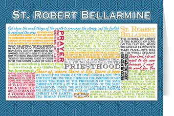 Saint Robert Bellarmine Quote Card