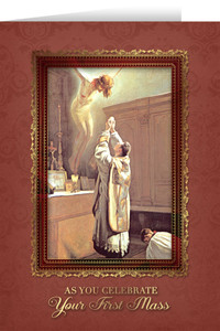 First Mass Ordination Greeting Card