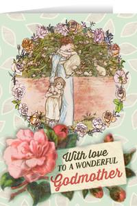 Springtime Godmother Greeting Card