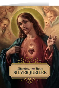 Sacred Heart Silver Jubilee Greeting Cards