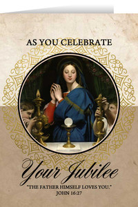 Madonna of the Host Jubilee Greeting Cards