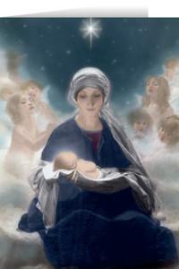 Star of Bethlehem Christmas Cards (25 Cards)