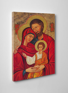 Holy Family Icon Gallery Wrapped Canvas