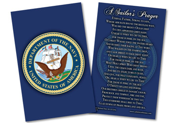 Navy Prayer Card