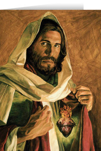 Sacred Heart of Jesus (Jenicke) Greeting Card