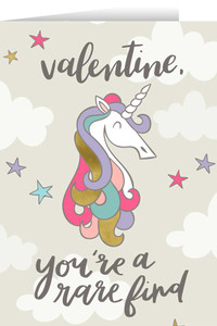 You're a Rare Kind Valentine's Day Greeting Card