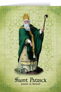 St. Patrick Feast Day Greeting Card