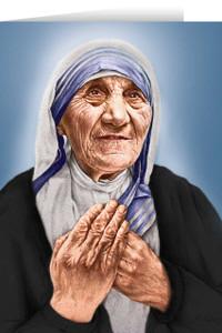 St. Teresa of Calcutta Greeting Card