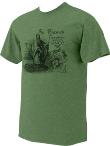 St. Patrick Green Heather T-Shirt