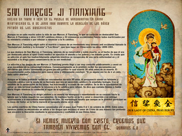 Spanish St. Mark ji Tianxiang Explained Poster