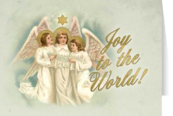 Vintage Angels Christmas Cards