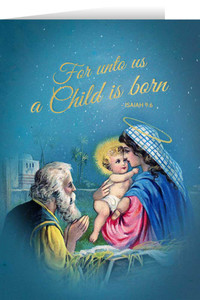 Vintage Holy Family Christmas Cards