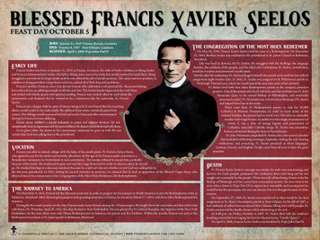 Blessed Francis Xavier Seelos Explained Poster