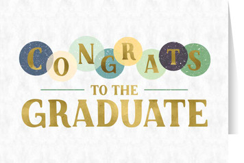 Congrats Graduation Greeting Card