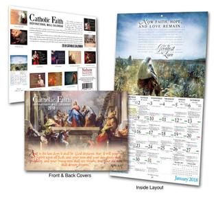 Catholic Liturgical Calendar 2018: Inspirational