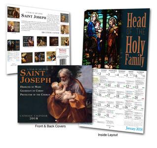 Catholic Liturgical Calendar 2018: Saint Joseph