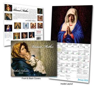 Catholic Liturgical Calendar 2018: Art with Mary