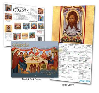 Catholic Liturgical Calendar 2018: the Iconography of Mount Tabor Studios