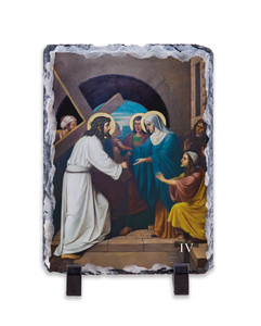 Emmerich Stations of the Cross Vertical Slate Tiles (Set of 14)