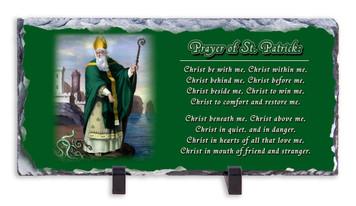 St. Patrick Prayer Horizontal Slate Tile