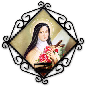 St. Therese of Lisieux Votive Candle Holder