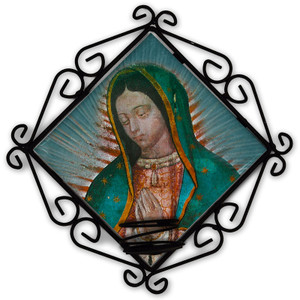 Our Lady of Guadalupe (Bust) Votive Candle Holder
