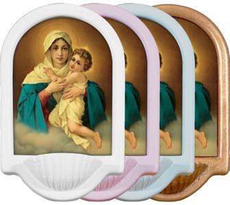 Schoenstatt Madonna Holy Water Font