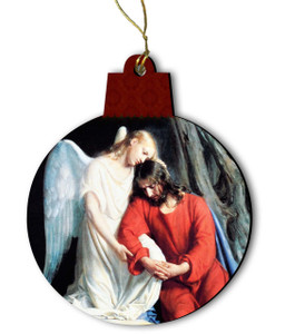 Gethsemane Wood Ornament