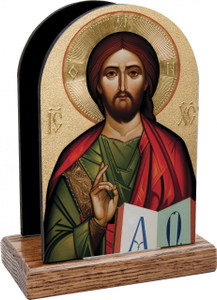Byzantine Christ Table Organizer (Vertical)