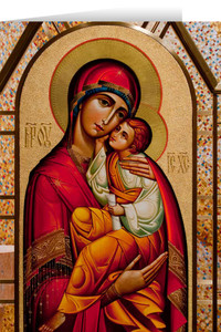 Mother of God Christmas Cards  (25 Cards)