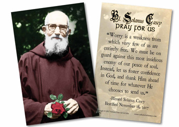 Blessed Solanus Casey, O.F.M. Holy Card