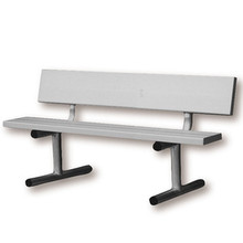 170001 5' Aluminum Courtside Bench