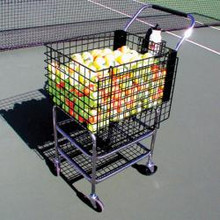 241704-Deluxe Club Cart with Cover and Mesh Divider
