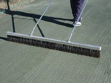 050101-Har Tru 6ft  Stainless Steel Bristle Drag Brush