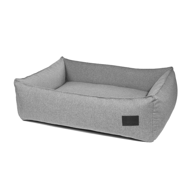 Dog Bed - Nube Box Bed Salt & Pepper_Sleep_www.hugoandotto.com