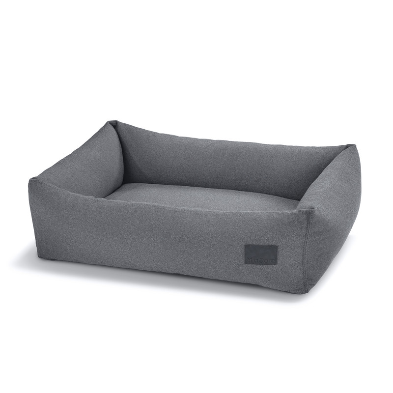 Dog Bed - Scala Box Dog Bed Steel Blue_Sleep_Dog Beds_www.hugoandotto.com