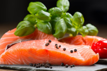 Fresh Salmon Fillets - Per Pound